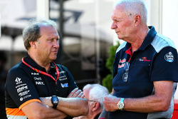 Robert Fernley, Sahara Force India F1 Team Deputy Team Principal with John Booth, Scuderia Toro Rosso Director of Racing
