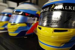 Helmets for Fernando Alonso, McLaren