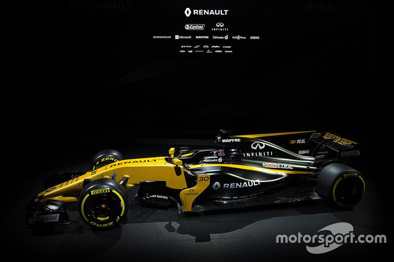 雷诺RS17赛车