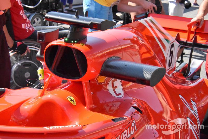 Ferrari SF71H airbox