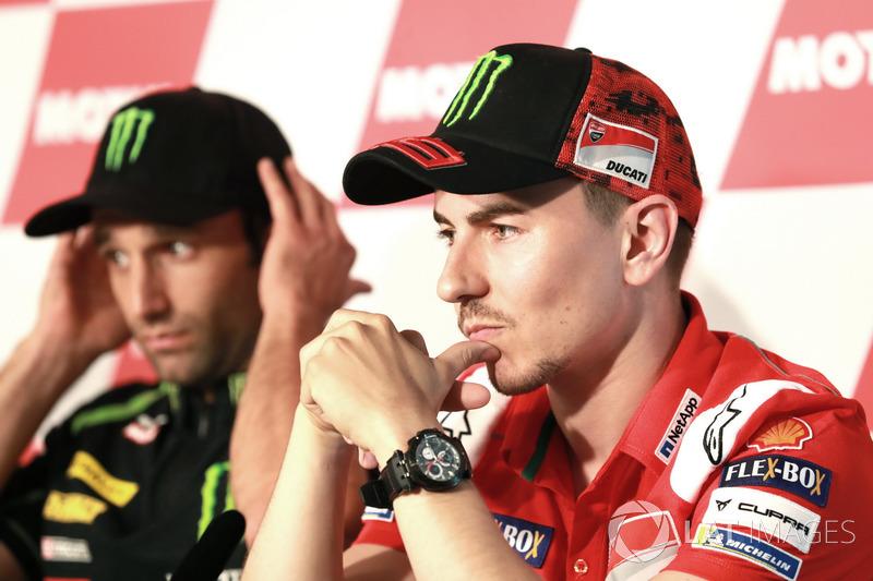 Conferencia de prensa, Jorge Lorenzo, Ducati Team