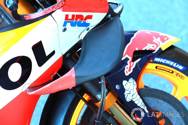 Sayap depan motor Marc Marquez, Repsol Honda Team
