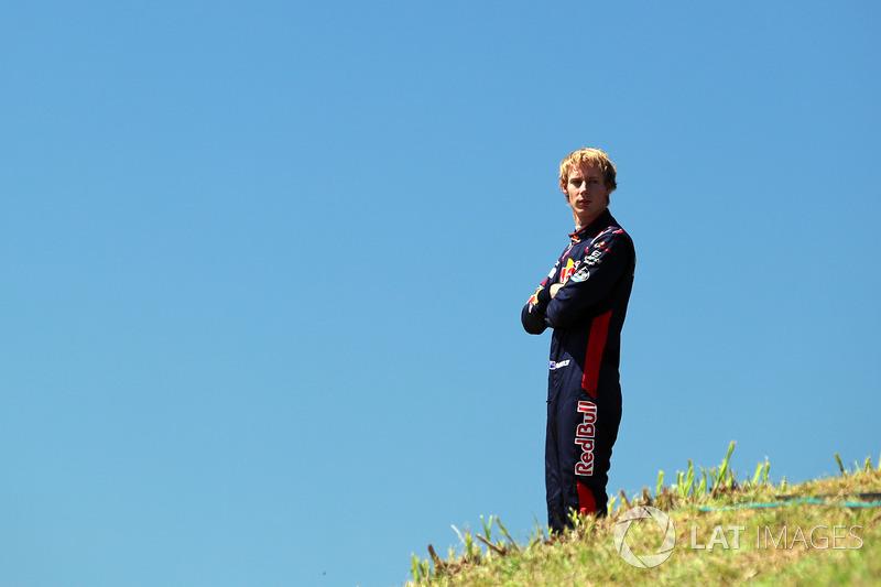 Brendon Hartley, Scuderia Toro Rosso tras abandonar los libres 1