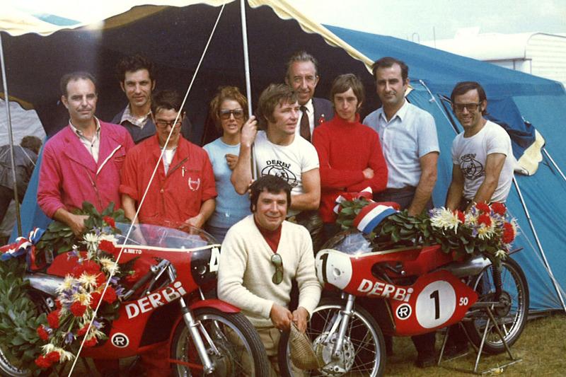 Angel Nieto Derbi Assen 1972