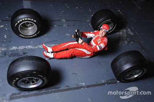 Día de la filmación de Ferrari
