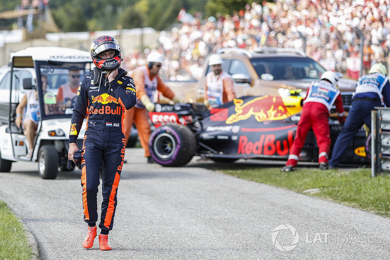 Race retiree Max Verstappen, Red Bull Racing