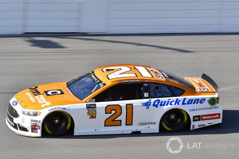 6. Paul Menard, Wood Brothers Racing, Ford