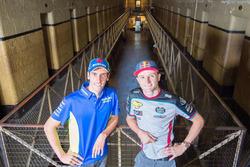Jack Miller, Estrella Galicia 0,0 Marc VDS, Alex Rins, Team Suzuki MotoGP visit Old Melbourne Gaol