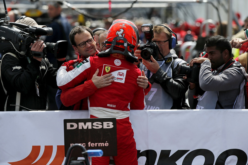 Le vainqueur Marcus Armstrong, PREMA Theodore Racing Dallara F317 - Mercedes-Benz