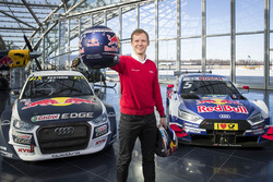 Mattias Ekström with the EKS Audi S1 quattro WRX and the Audi RS5 DTM