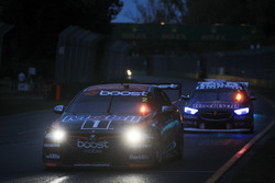Scott Pye, Walkinshaw Andretti United Holden, leads Jamie Whincup, Triple Eight Race Engineering Holden