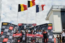 Podium: Race winnaar #1 Belgian Audi Club Team WRT Audi R8 LMS: Alex Riberas, Christopher Mies, tweede #2 Belgian Audi Club Team WRT Audi R8 LMS: Will Stevens, Dries Vanthoor, derde #25 Sainteloc Racing Audi R8 LMS: Simon Gachet, Christopher Haase