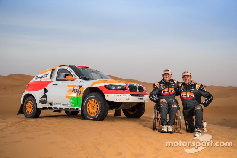 #336 Isidre Esteve y Txema Villalobos, Repsol Rally Team