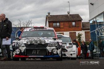 Ivan Ballinari, Marco Menchini, Skoda Fabia R5, Lugano Racing Team