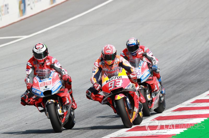 GP d'Autriche : Marc Márquez (Repsol Honda Team), 2e
