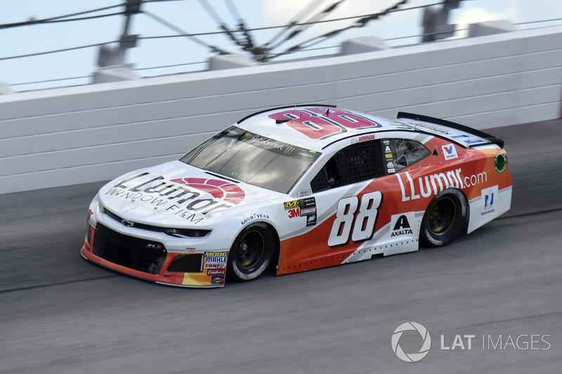 Alex Bowman, Hendrick Motorsports, Chevrolet Camaro *