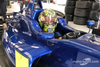 Norris Silverstone training