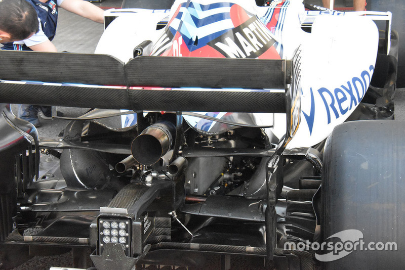 Williams FW41, retrotreno