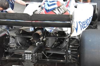 Williams FW41, retrotreno