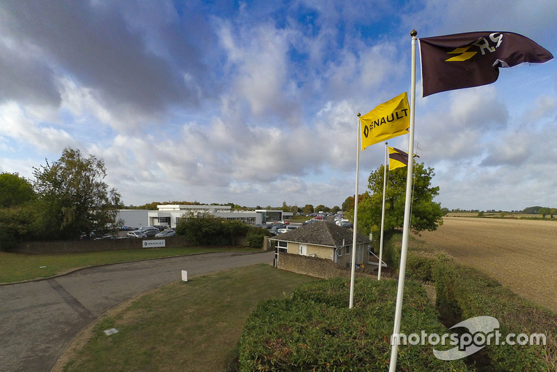 База Renault F1