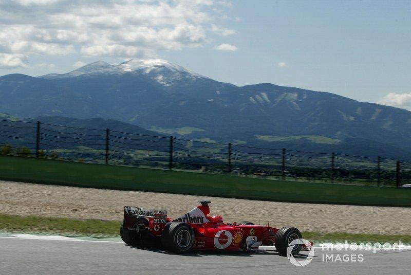 67勝目:2003年オーストリアGP