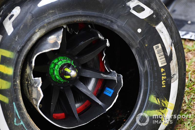 Розбита машина Ніко Хюлькенберга, Renault Sport F1 Team R.S. 18
