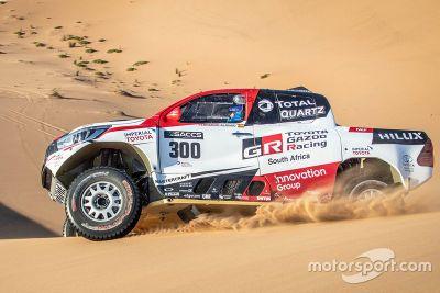 Alonso Toyota Namibia testing