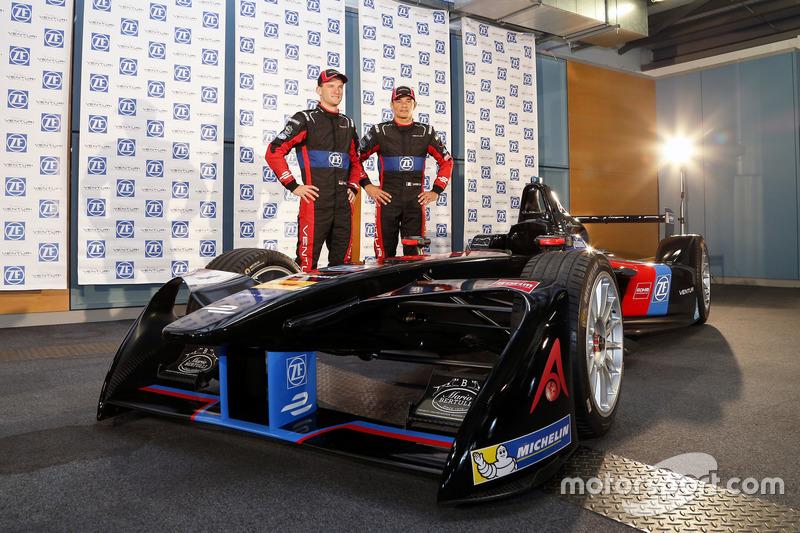 Maro Engel e Stéphane Sarrazin,  Venturi Formula E Team