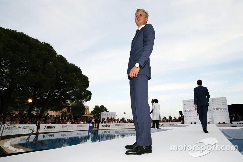 Marcus Ericsson, Sauber F1 Team en el Amber Lounge Fashion Show