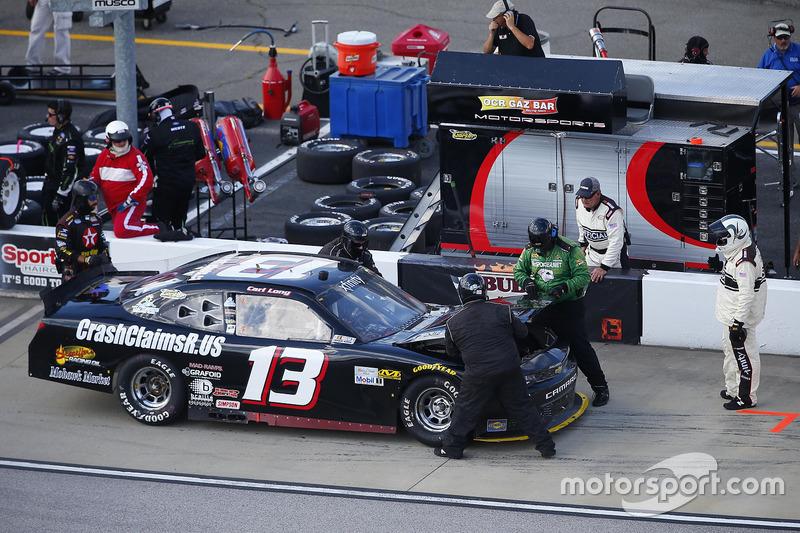 Carl Long, Chevrolet, pit stop