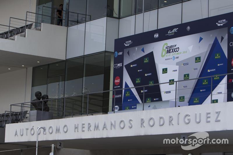 Aspectos del circuito podium
