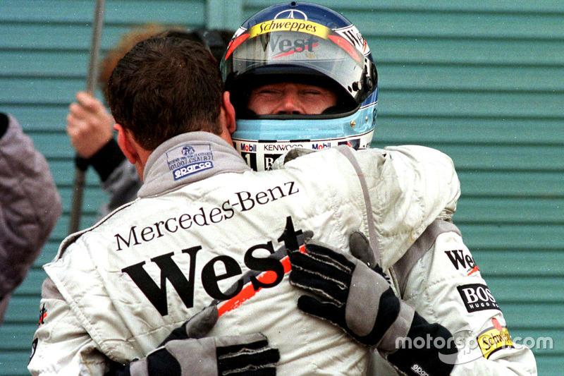 Девід Култхард, McLaren і Міка Хаккінен, McLaren