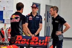 Max Verstappen Visita fábrica Red Bull Racing