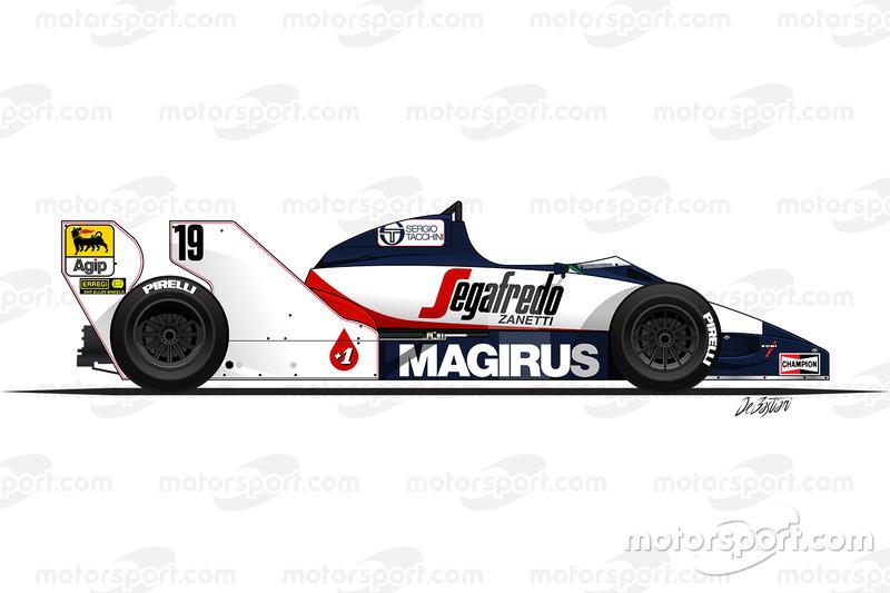 Toleman TG183B de Ayrton Senna (1984)