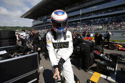 Jenson Button, McLaren grid