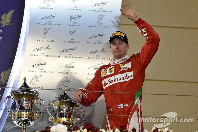 Кими Райкконен 8 раз финишировал в Бахрейне на подиуме – и ни разуна первом месте