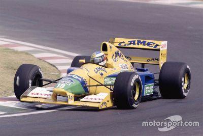 Michael Schumacher Benetton subasta