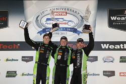 Winners Scott Sharp, Ryan Dalziel, Brendon Hartley, Tequila Patrón ESM