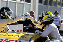 Polesitter Timo Glock, BMW Team RMG, BMW M4 DTM and Maxime Martin, BMW Team RBM, BMW M4 DTM