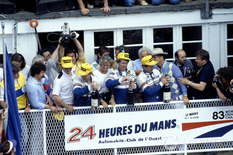 1983: Vern Schuppan, Al Holbert, Hurley Haywood