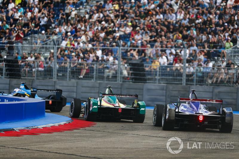 Daniel Abt, ABT Schaeffler Audi Sport, Sam Bird, DS Virgin Racing