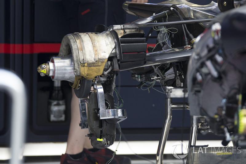 Кріплення заднього колеса Red Bull Racing RB13
