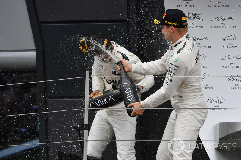 Льюіс Хемілтон, Валттері Боттс, Mercedes AMG F1