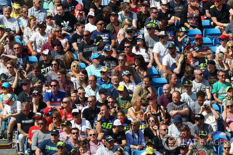 Espectadores en Silverstone