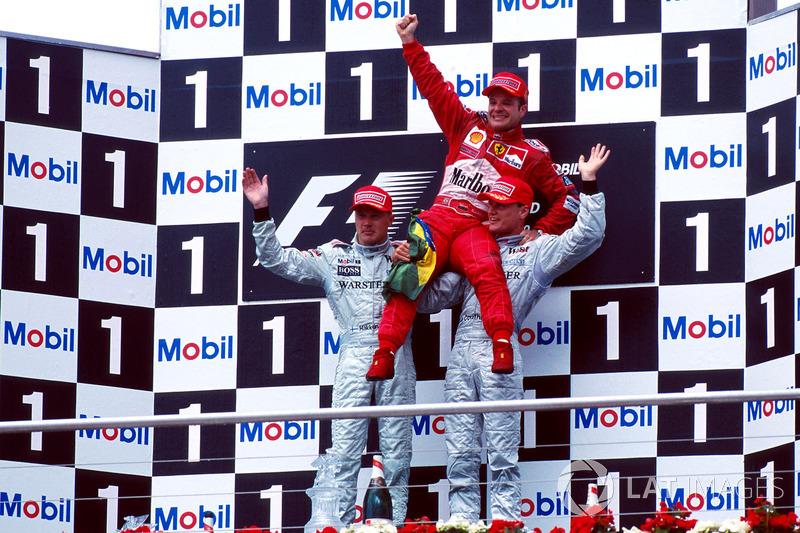 Choque de Michael Schumacher, Ferrari F1 2000