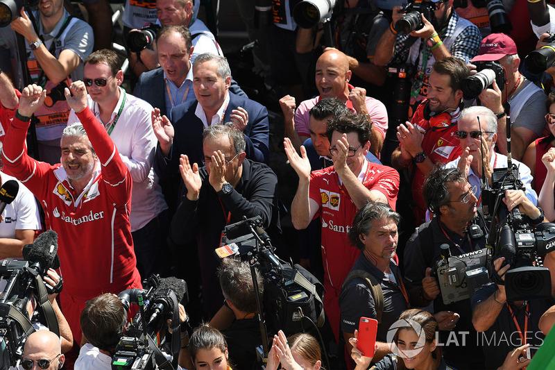 Укрепление позиций Ferrari в Формуле 1