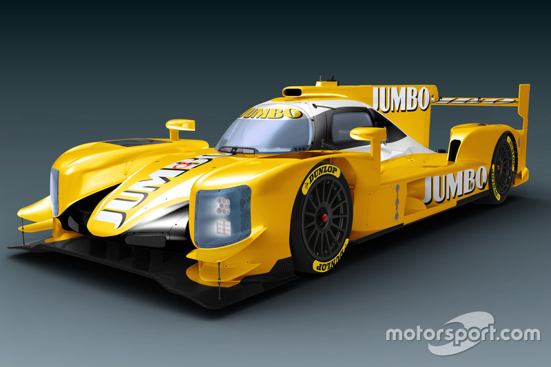 Dallara LMP2 of Racing Team Nederland with Jumbo livery