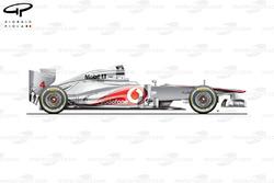 McLaren MP4-27 side view