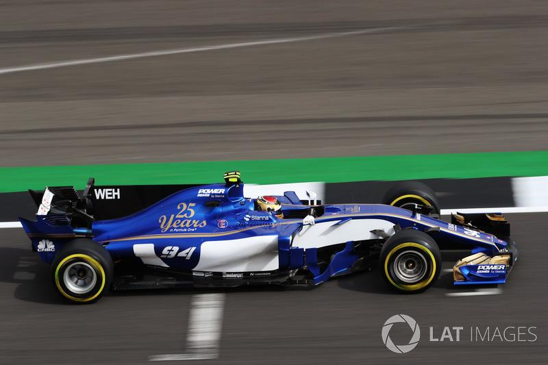 17. Pascal Wehrlein, Sauber C36