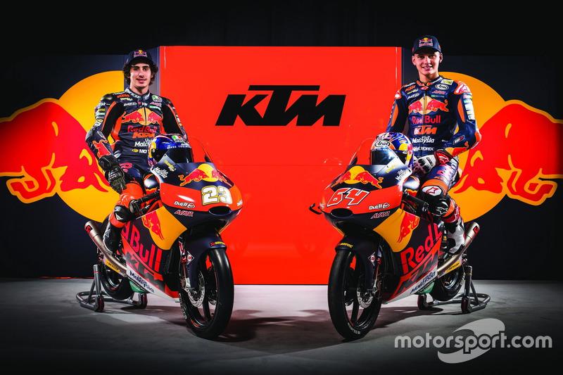 Niccolo Antonelli, Red Bull KTM Ajo; Bo Bendsneyder, Red Bull KTM Ajo